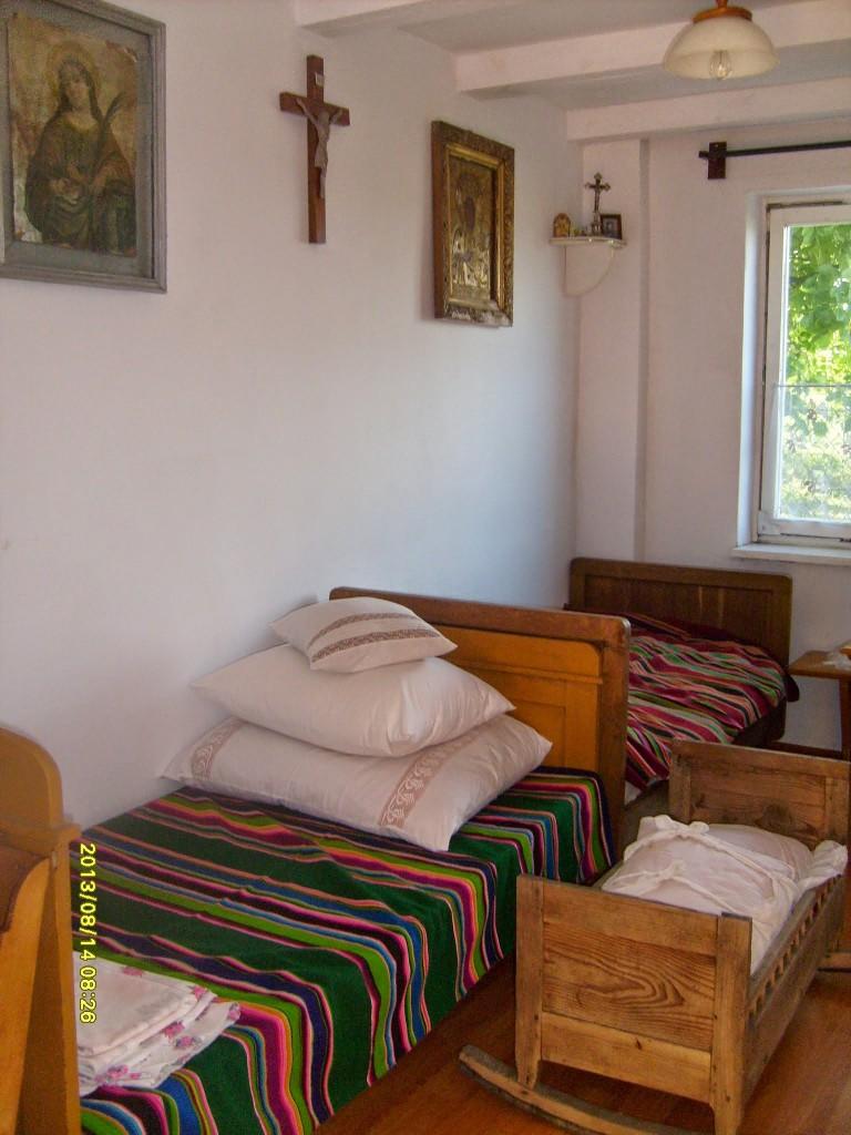 Izba chłopska - z okresu międzywojennego