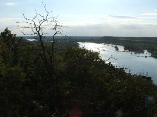 Wisła w Kazimierzu Dolnym fot. K. Siek