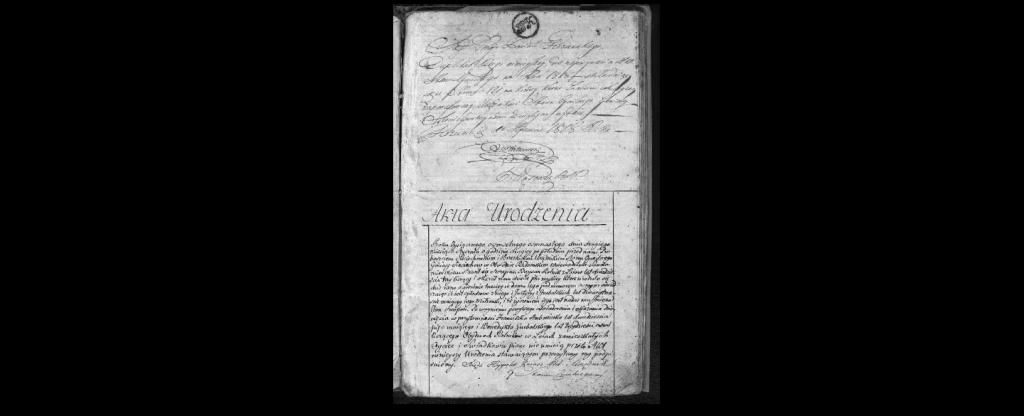 Akta urodzeń 1818